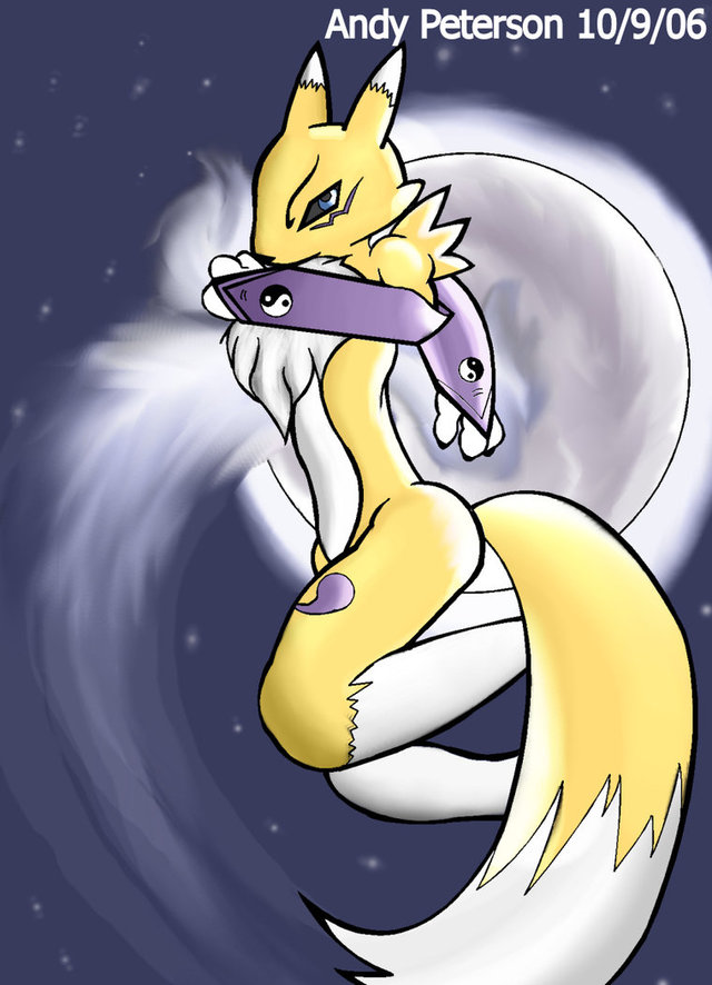 renamon porn art pre renamon power paw andythenerd