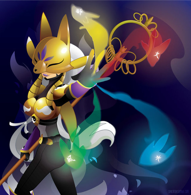 renamon porn art pre sakuyamon revisited spacekitty