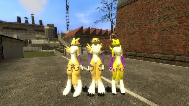 renamon porn art renamon models gmod