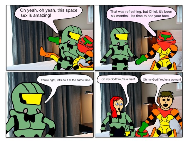 samus aran porn comic page having game video samus master characters aran chief