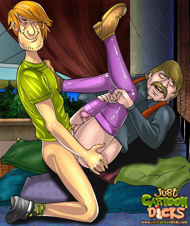 scooby doo porn cartoons porn gay cartoon ass scooby doo gets from dicks series shaggy destroyed