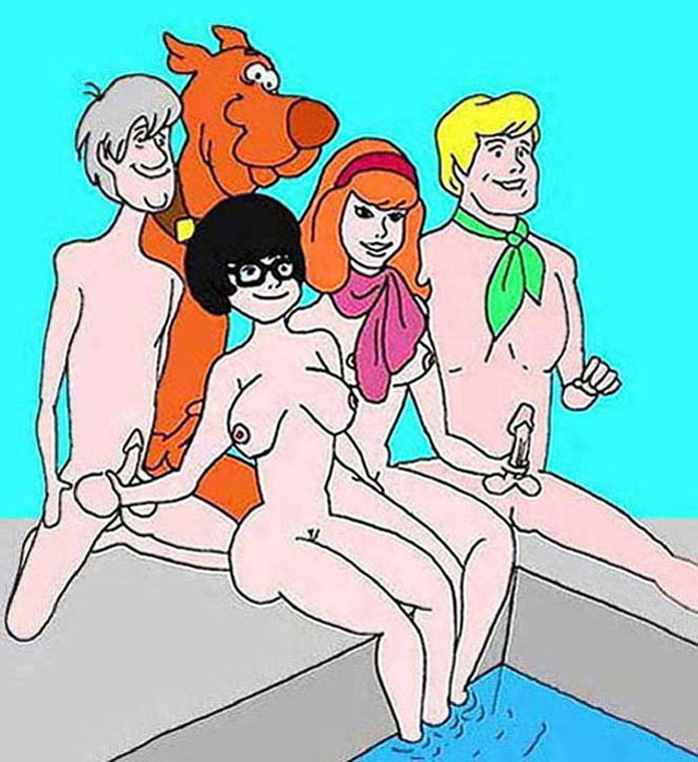scooby doo porn tommy cont