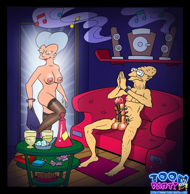 sex adventures of lois griffin porn toon futurama party gals adventure