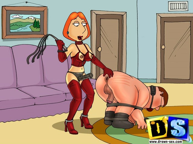 sex adventures of lois griffin porn lois bdsm discovered