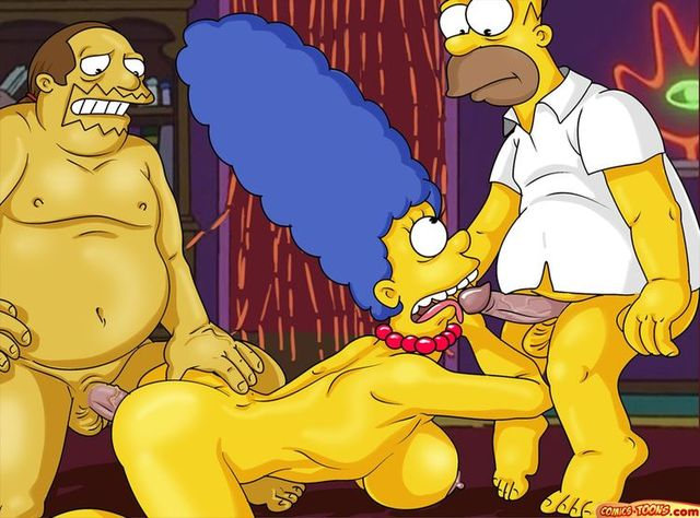 sex toons of simpson family sex porn porn simpsons cartoon marge simpson