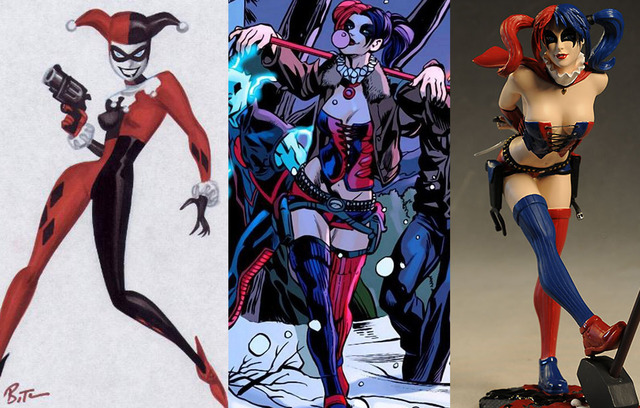sexy drawings of a famous super heroine hot porn that head harley designs need superheroine stupid redesign existing stat