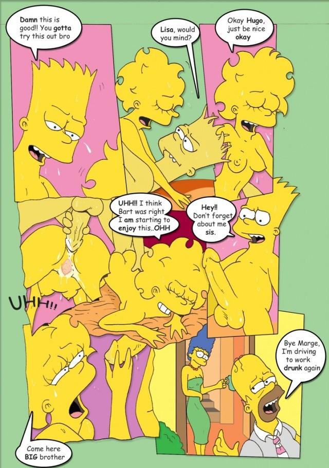 симпсоны порно комикс хентай