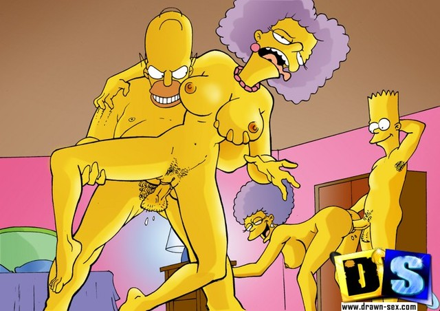 simpson hentai simps simpsons drawn