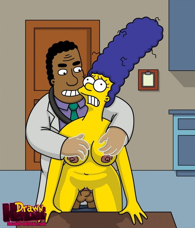 simpson hentai hentai simpsons marge simpson drawn fcb cfec julius hibbert