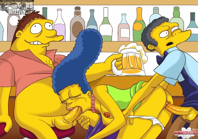simpsons doing anal porn porno simpsons marge simpson anal