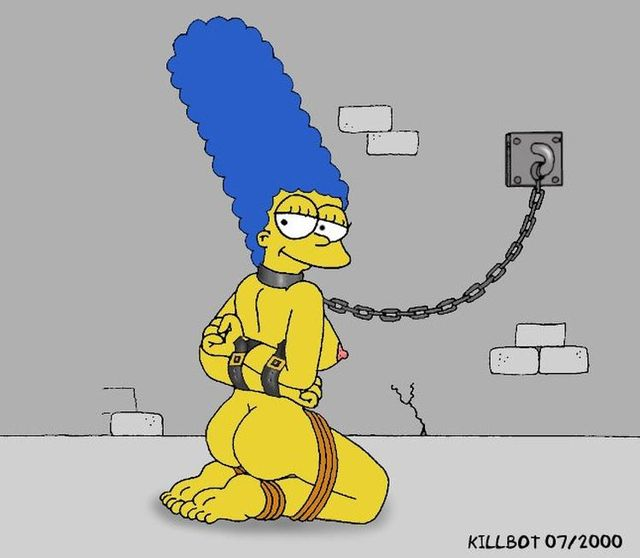 Marge Simpson And Lois Griffin Bondage