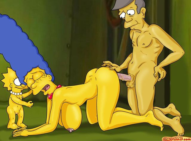 simpsons family hard sex porn hentai porn simpsons family toon stories