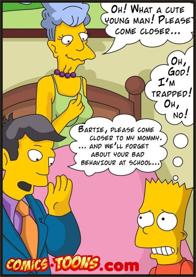 simpsons family porn comics porn porn simpsons media comics family