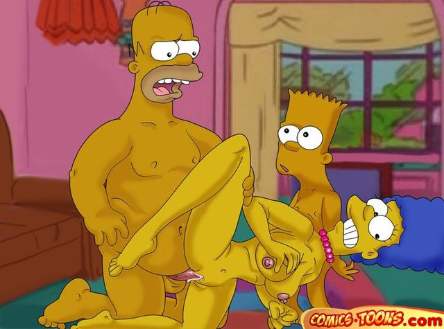 simpsons family porn comics porn porn simpsons cartoon