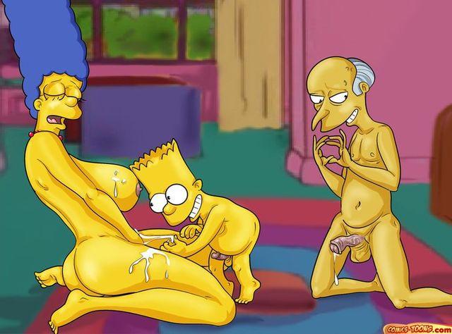 Porno De Los Simpson