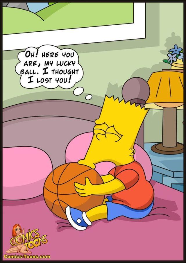 porn Simpsons cartoon