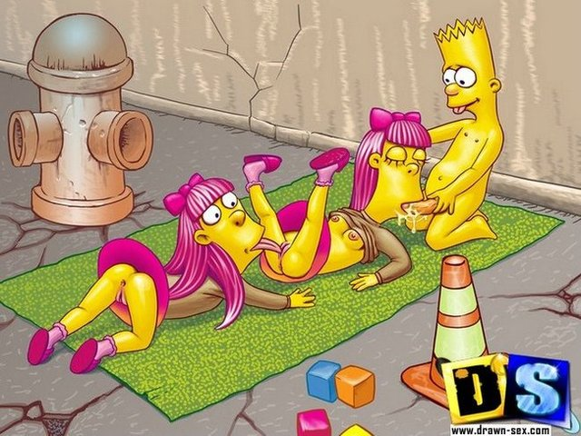 simpsons hentai simpsons page simpson bart