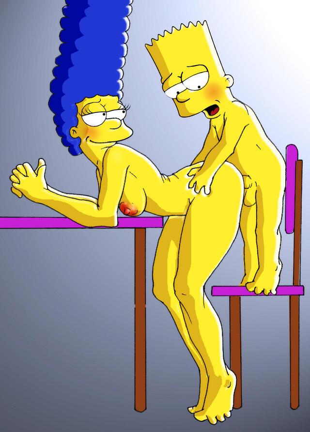 секс картинки барта симпсона