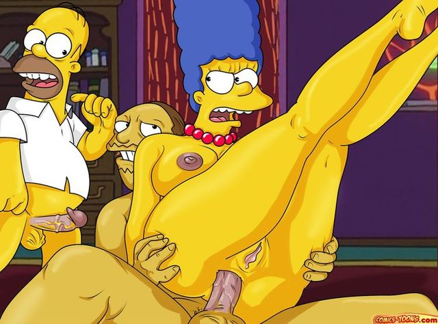 simpsons hentai that hentai porn simpsons gay large bart stories toons milhouse toonsfantasy