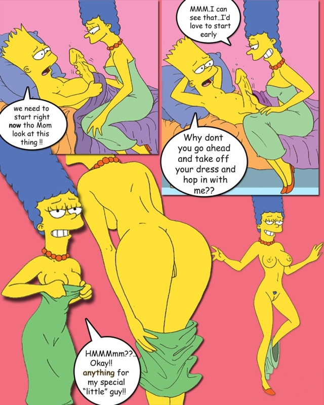 simpsons porn comics porn simpsons media comic marge simpson bart original fluffy