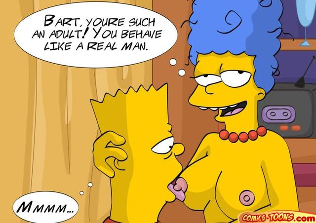simpsons porn comics hentai simpsons marge stories