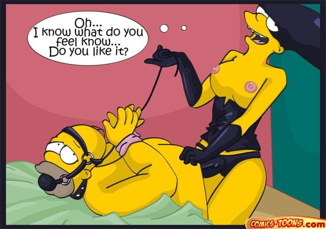 Idea)))) Simpsons cartoon bondage