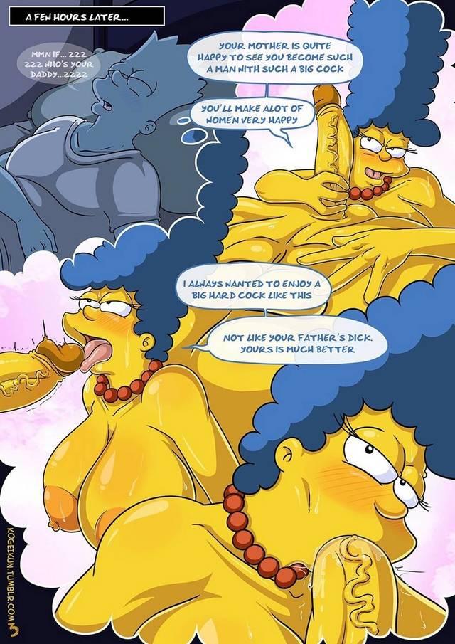 Новые порно комиксы симпсоны на русском