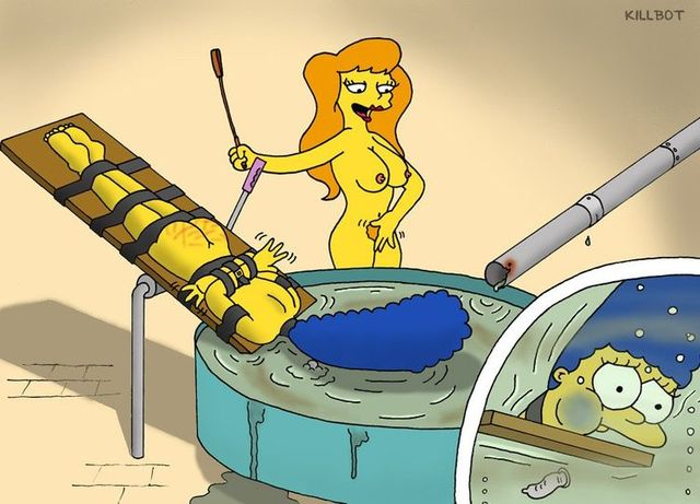 simpsons' wild adventures porn simpsons cartoon naked aslee