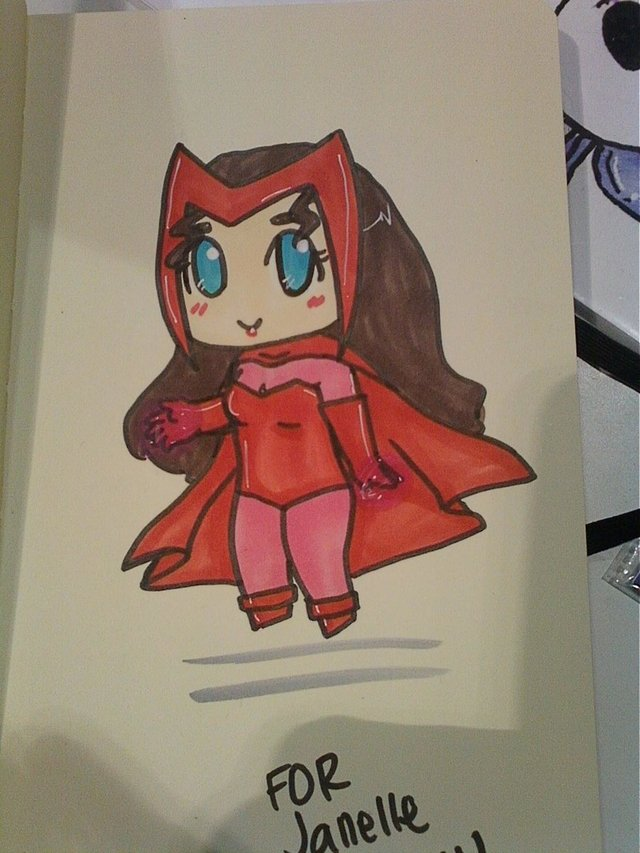 sin possible witch toon porn scarlet witch cuddly cape geek culture