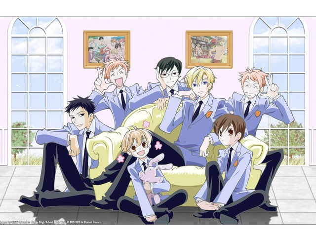slutty ouran high school host club porn high club school host ouran wall