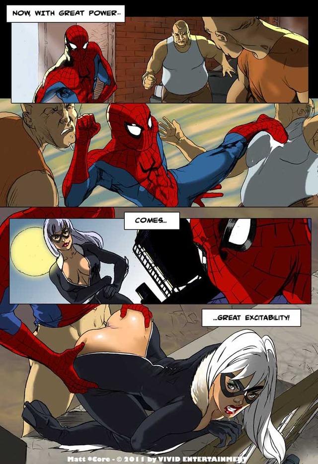 порно человек паук совершенные комиксы