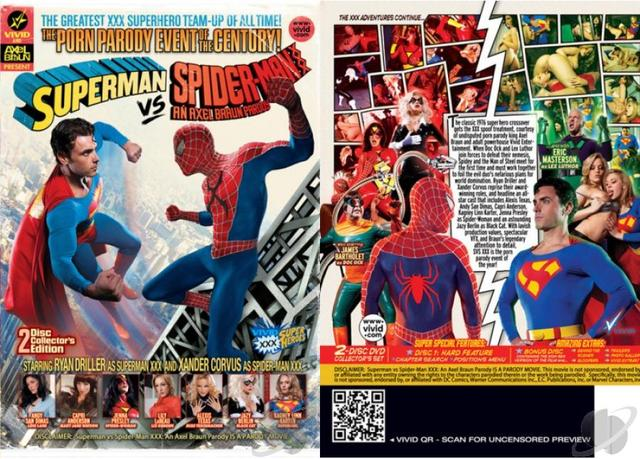spiderman porn parody xxx ade superman spider man aee axel braun