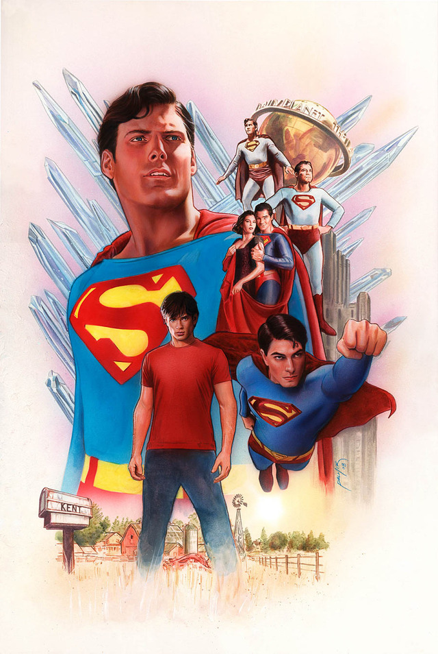superman and supergirl fucking superman final auction previews painting meltzer jasonpalmer