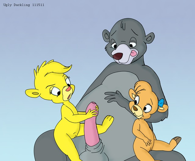 talespin porn crossover molly cunningham talespin ugly baloo bears bacb gummi sunni duckling