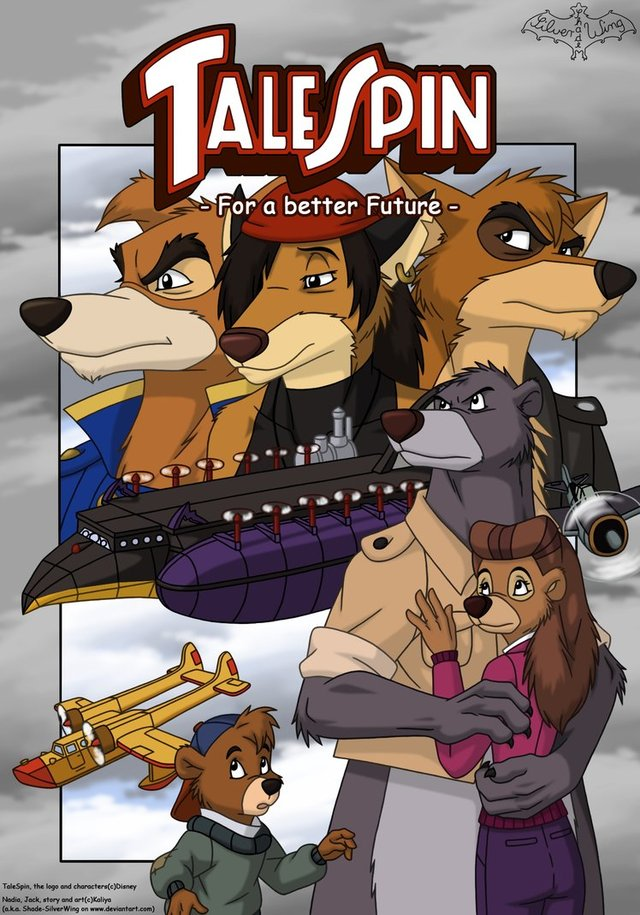 talespin porn comics pre future cartoons cover digital morelikethis better talespin shade silverwing xoy