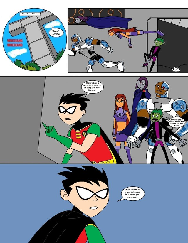 teen titans porn page art teen naked titans danger numbuh xyq