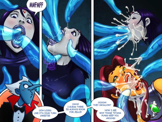 Teen Titans Porn image #650