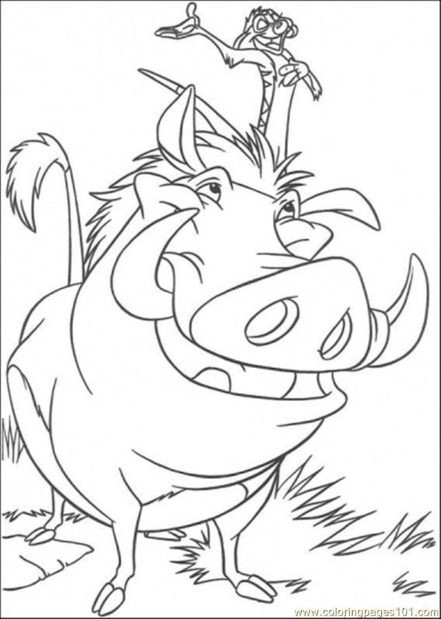 the lion king porn page lion king pages coloring pumbaa timon waterfall helionking coloringpage jfweh