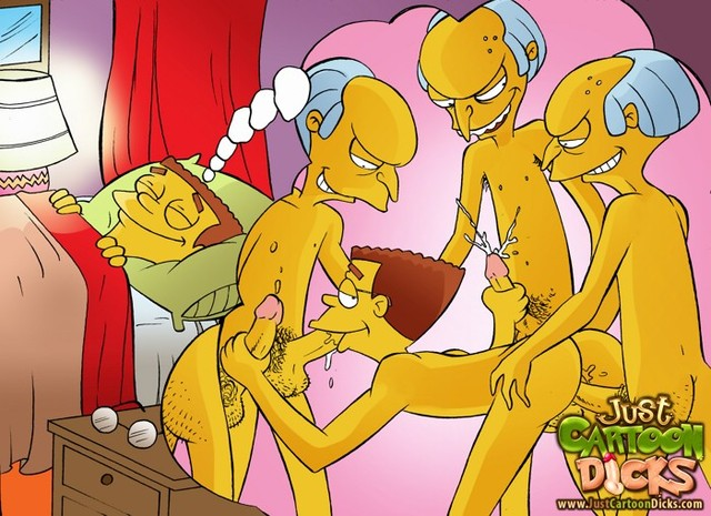 the simpsons perversion porn porn simpsons media gay toon perversion