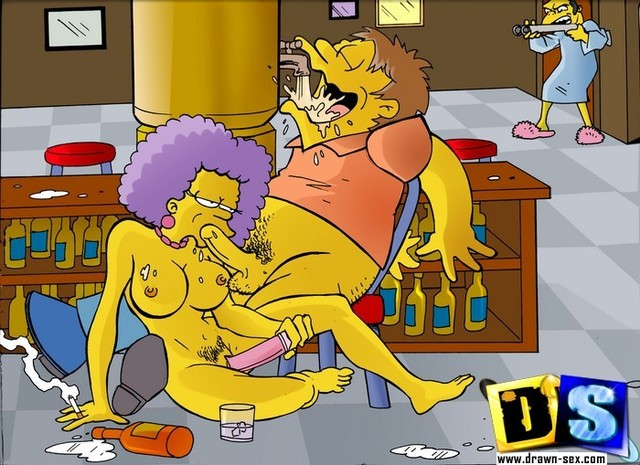 toon characters porn simpsons drawn sextoons