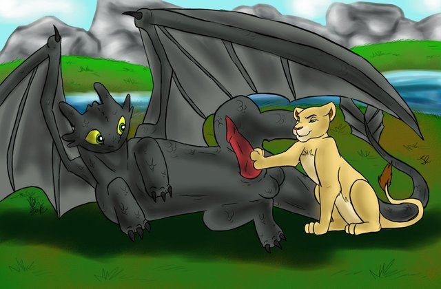 toothless dragon porn dragon lion king crossover cff how train toothless kiara dfd