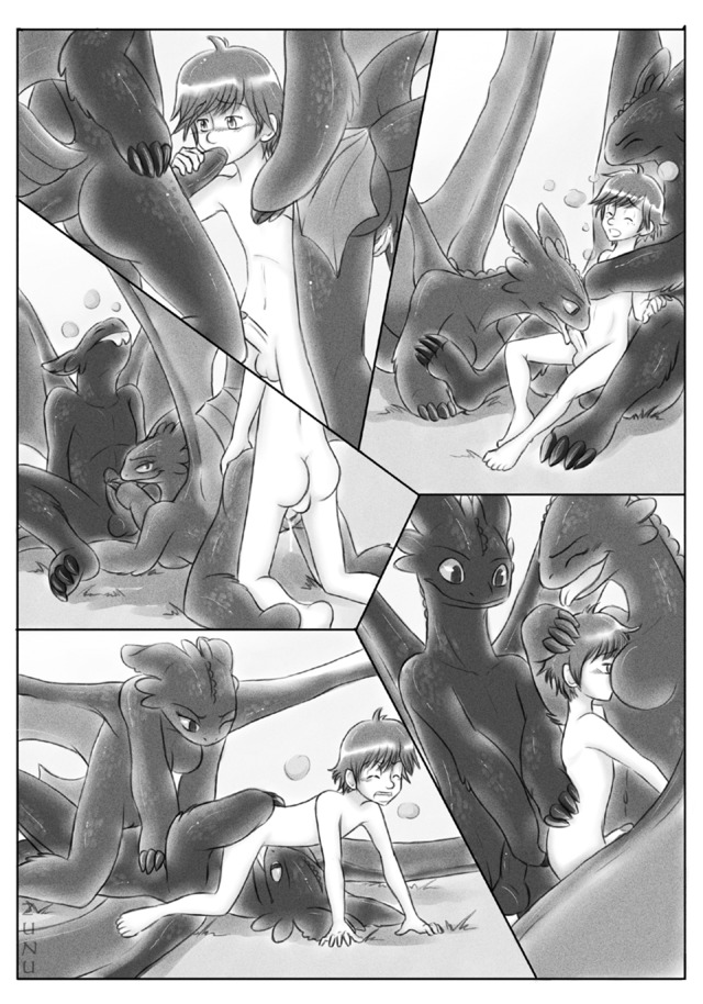toothless dragon porn comic dragon how train toothless hiccup craymin