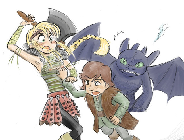 toothless dragon porn dragon how train toothless astrid hofferson hiccup decc ebfc