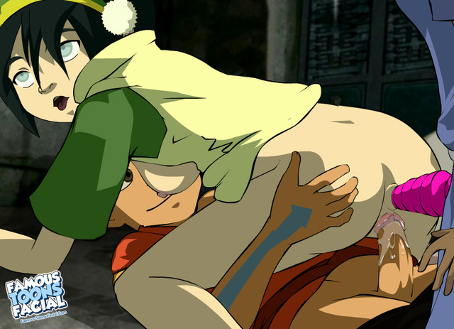 toph porn last toons entry famous ace avatar airbender toph bei fong facial aang