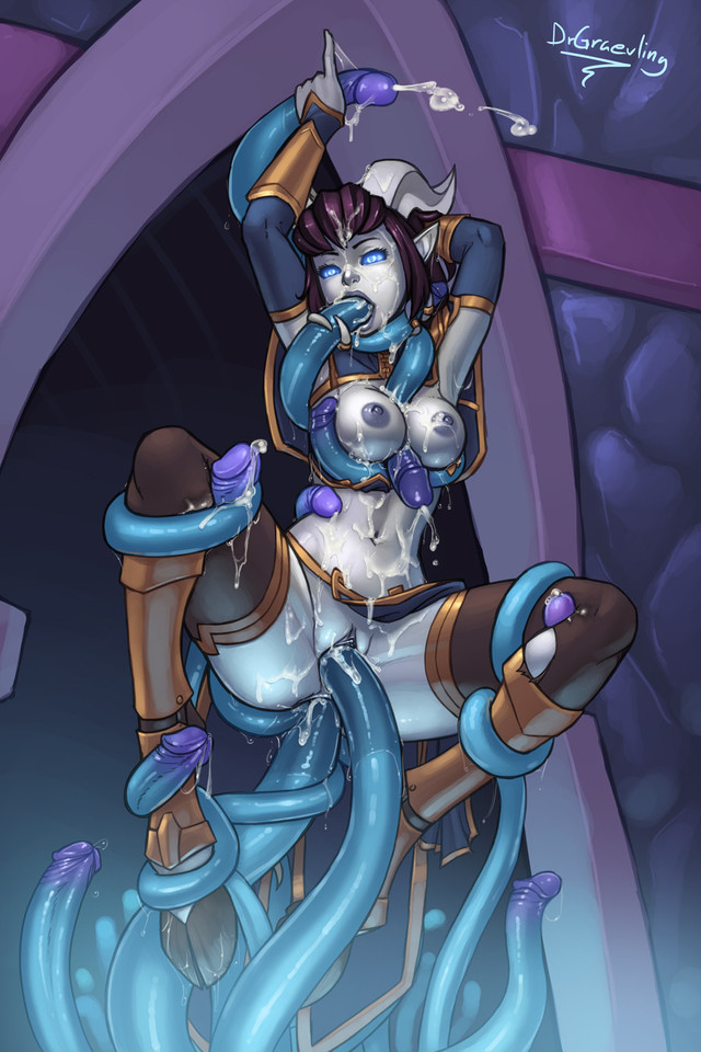warcraft porn porn photo world warcraft draenei