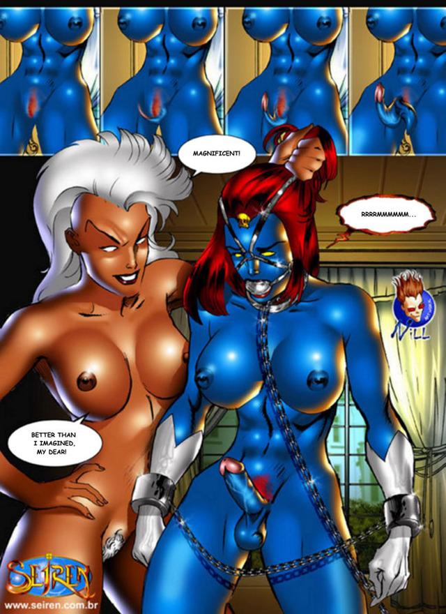 комиксы марвел эротика