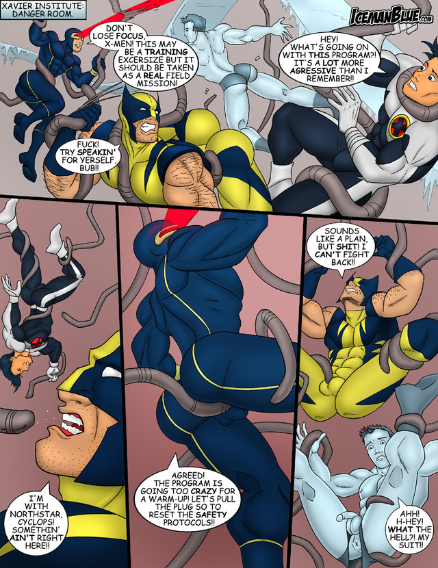 x men porn porn gay drawn fucking men danger room
