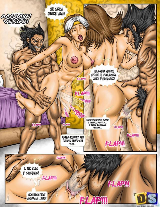 Порно комикс люди x 62033 фотография