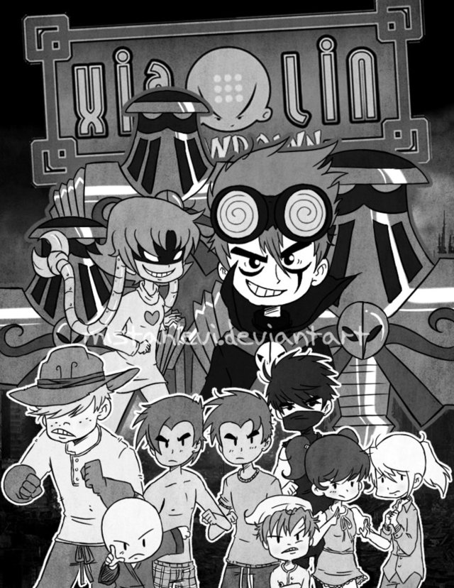 xiaolin showdown boys porn comic pre chapter cover morelikethis collections xiaolin showdown mistahlevi