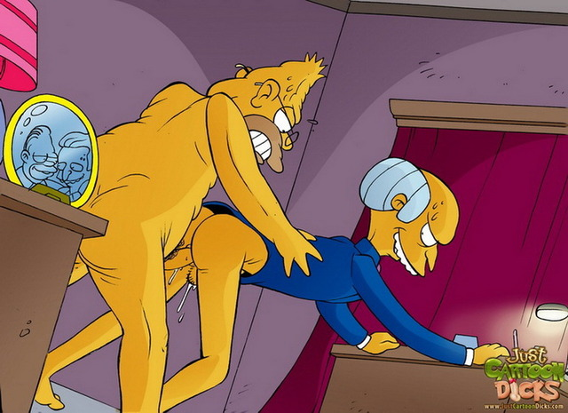 yellow toon guys porn porn simpsons gay entertainment incredible